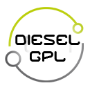 Logo Diesel Gpl - Green Vehicles - Veicoli elettrici - Jesi - Italia