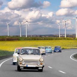 Auto d'epoca elettriche - Green Vehicles - Veicoli elettrici - Jesi - Italia - 7