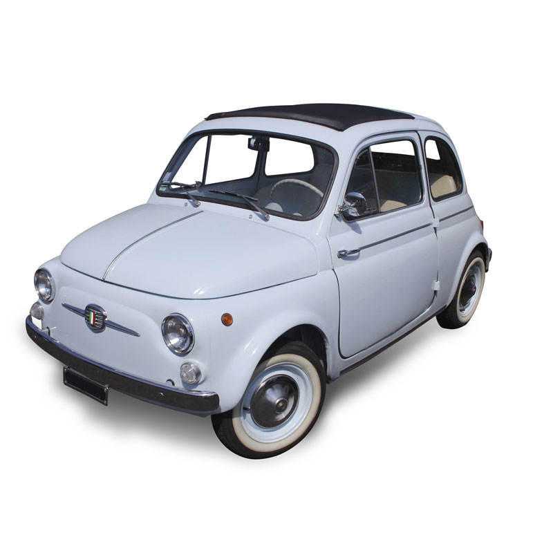 Elettro Vintage - auto epoca elettriche - Green Vehicles - Jesi - 500 Fiat