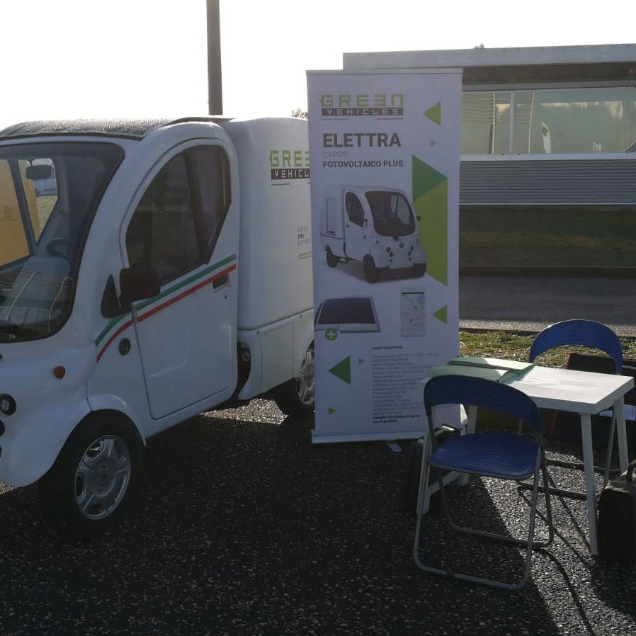 Poste Motor Day - Green Vehicles - Italia Jesi- Elettra Cargo - Plus
