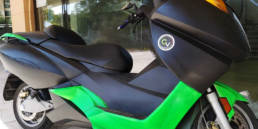 revamping scooter vectrix by greenvehicles